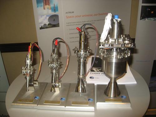 Small rocket engines