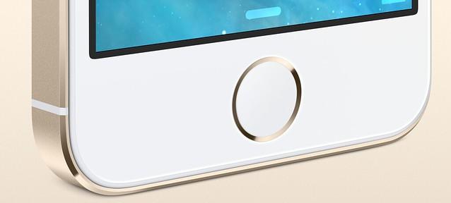 iPhone5S_指紋センサーがホームボタンに