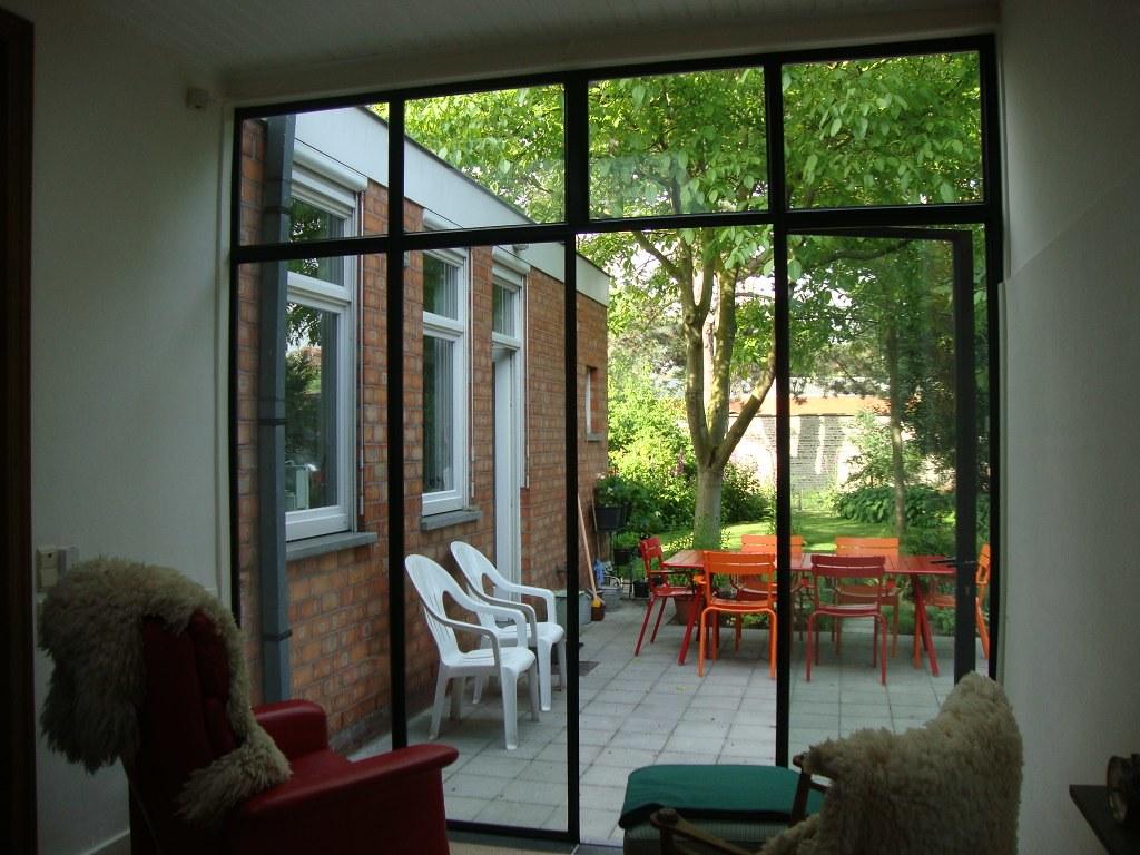 Buitenramen & buitendeuren staal met stijl