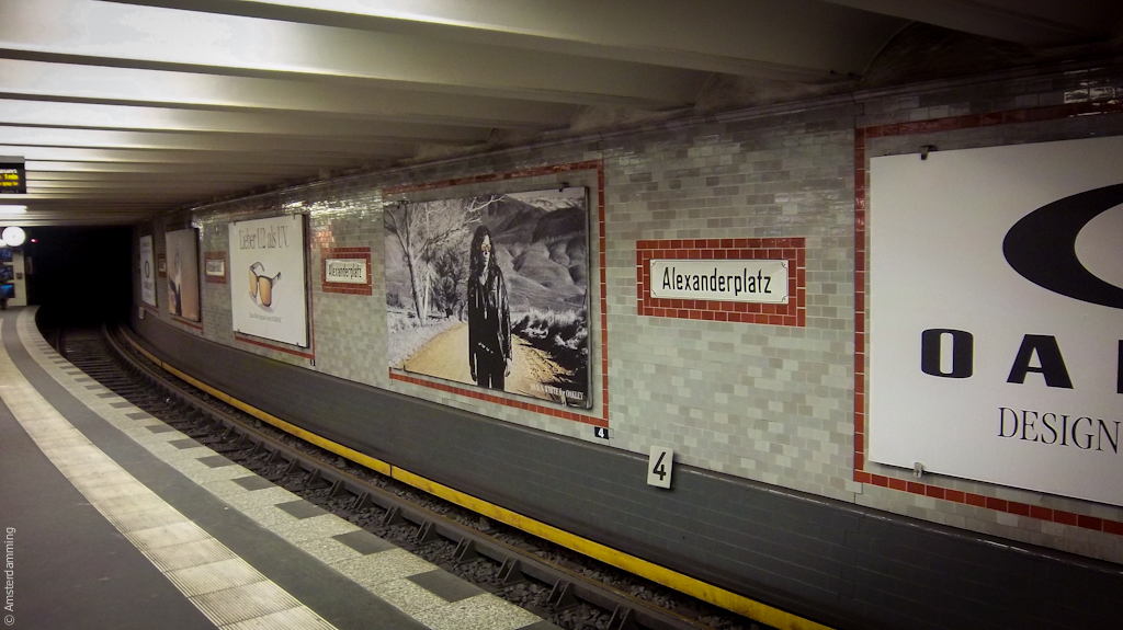 Berlin, U-Bahn Station Alexanderplatz