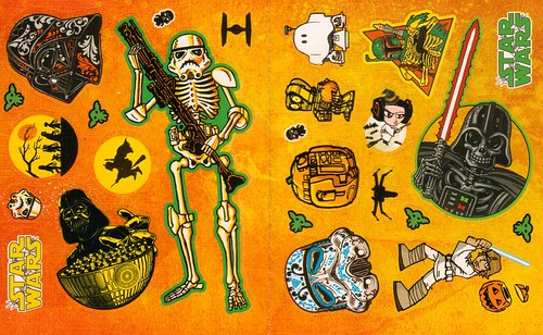 Star Wars Halloween Play Pack - Sticker sheet 2