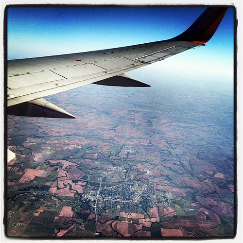 Oklahoma from the sky