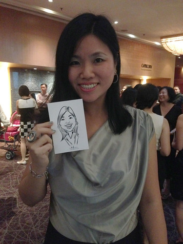 Digital live caricature for NTUC D&D 2013 - 3b