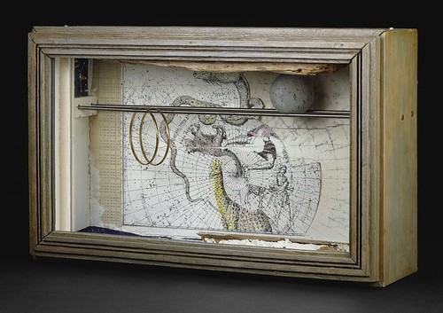 Joseph Cornell, The-Eagle-the-Arrow-and-the-Dolphin-c.-1960