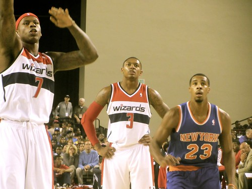 Washington, wizards, new york knicks, Baltimore, Baltimore arena, nba, preseason,  Baltimore classic, bullets, truth about it, adam mcginnis, Al Harrington, bradley beal, toure murry