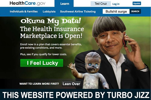 NEW OBAMACARE WEBSITE by WilliamBanzai7/Colonel Flick