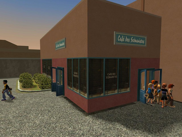 Miramar Studios Park - Café des Scénaristes