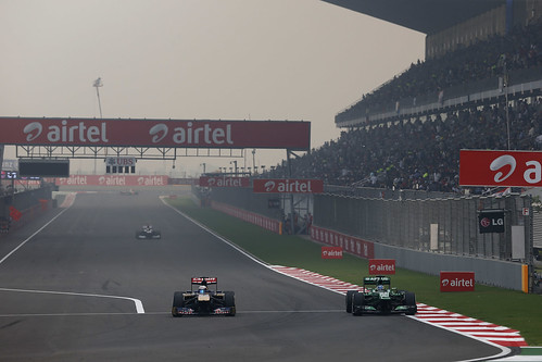 2013 Indian Grand Prix - Sunday