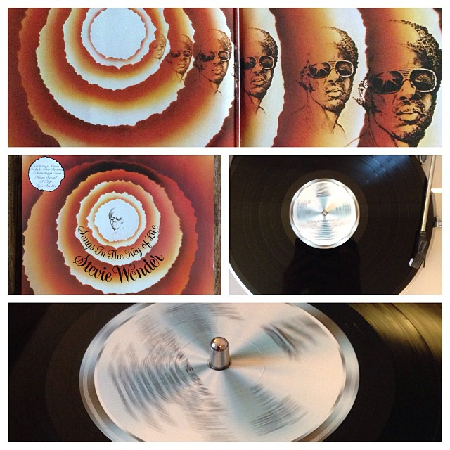"021113_ #np ""Songs in the Key of Life"" by Stevie Wonder #vinyl"