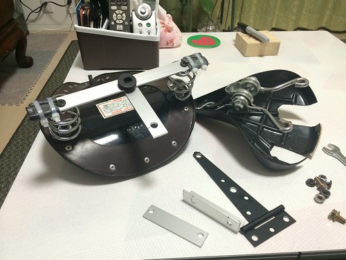 Diy Bolt On Springer Seat Mount The Sportster And Buell
