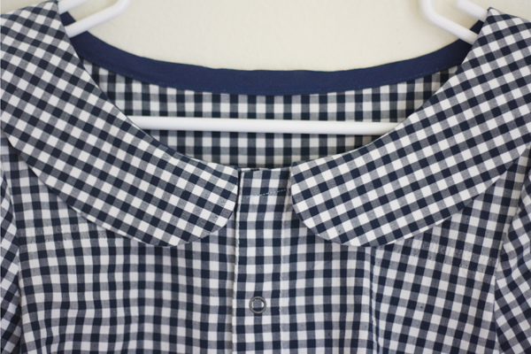 Gingham Shirt Refashion