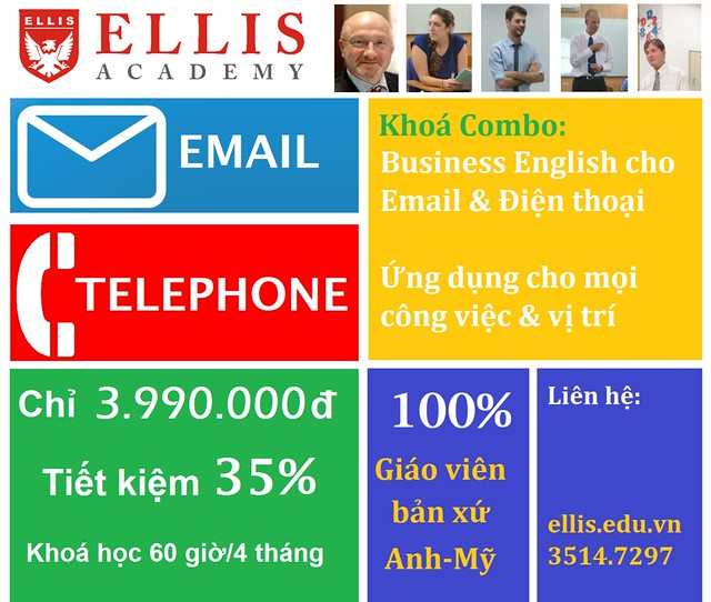 Giảm 35% khoá combo Business English for Email + Telephone 10795219154_5da1bf6d00_z