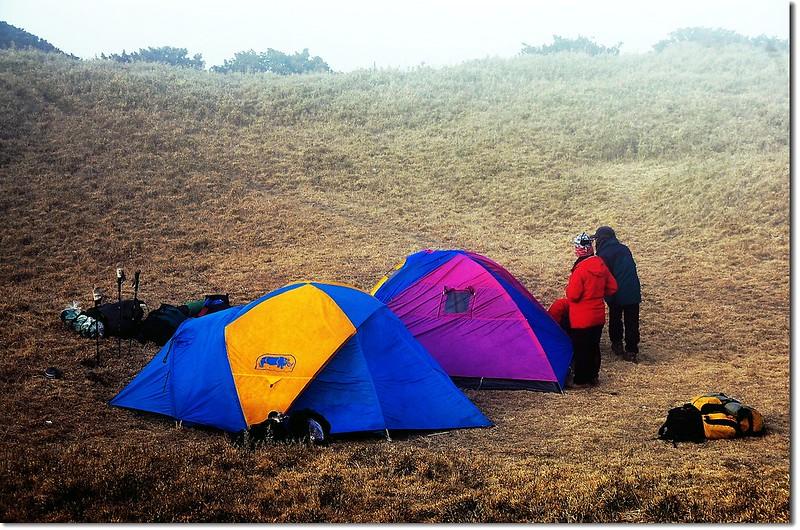 三叉峰營地 2