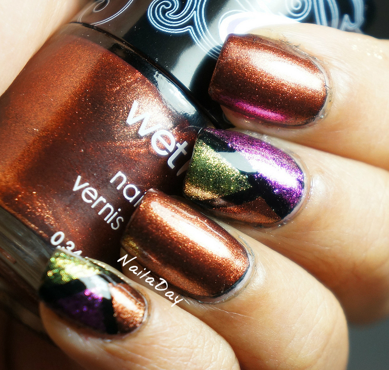 NailaDay: Wet n Wild Rustic Color Block