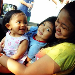 The girls are up! Kulet & Bugoy joyride. :) <3