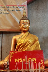 The statues at Wat Chin Pracha Samosom, also known as Wat Leng Hok Yee, are a delight to photograph