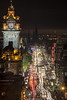 Princes Street Light Trails November 2013