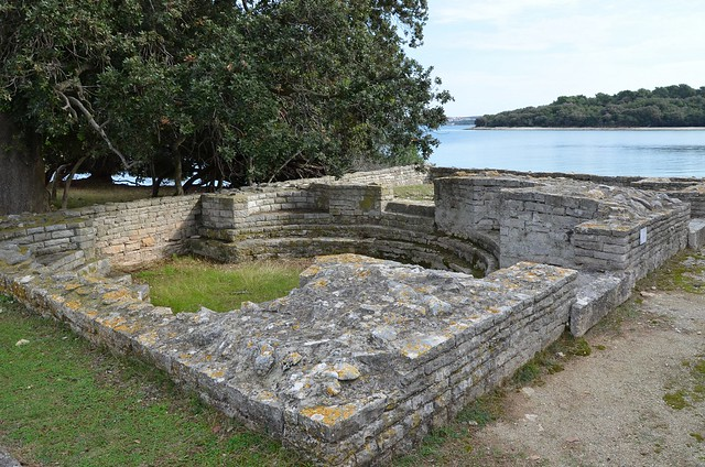 The Thermae, Roman Villa in the Bay of Verige, Brijuni Islands, Croatia