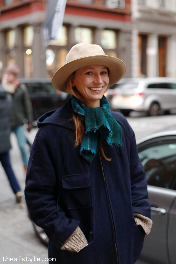 flea market hat, new york streetstyle fashion blog,
