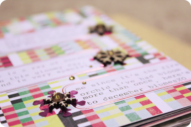 {dec 11th} christmas countdown mini | journaling
