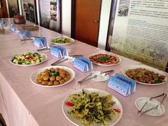 慈心基金會輔導茂林社區發展協會的蔬食風味餐。