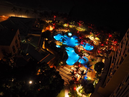 Sheraton Waikiki - 夜景