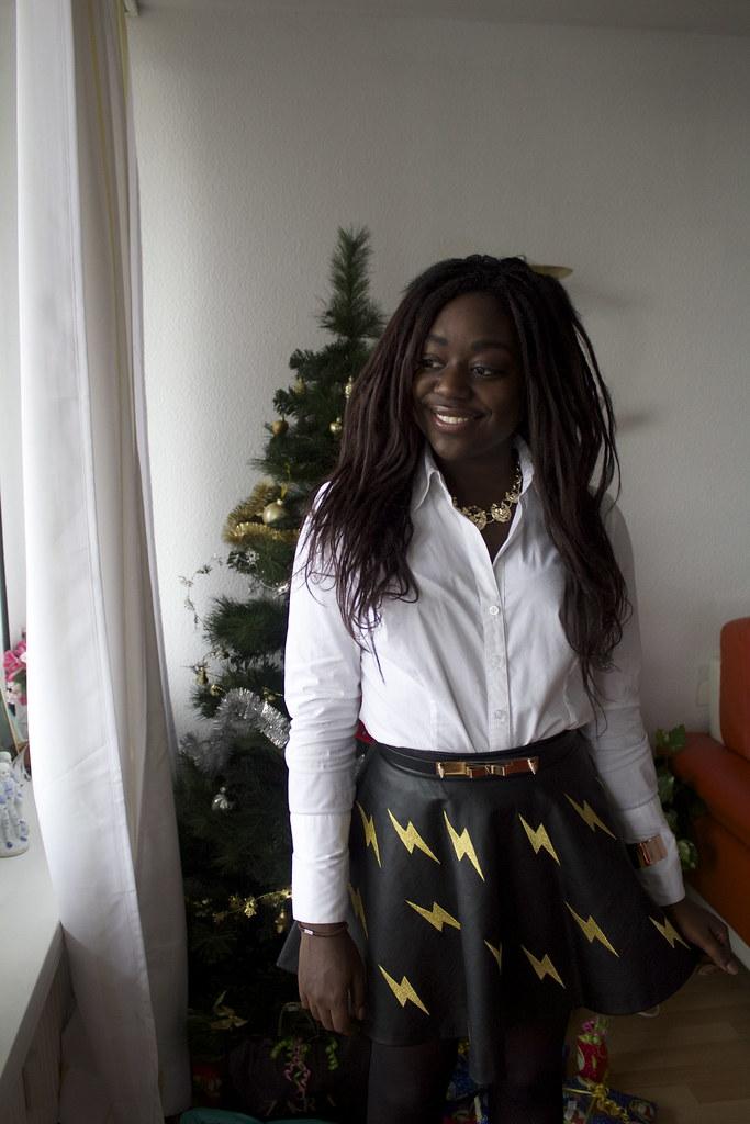 Christmas look Lois Opoku lisforlois