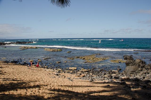 Beach at Mama's Fish House, Maui