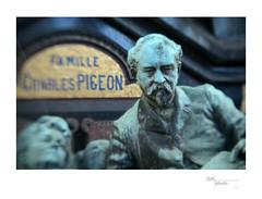 Famille Charles Pigeon (Cimitière du Montparnasse) (Cindo Paris Series 52-5mm  f=85mm  f2-2 on Nikon D800) 1