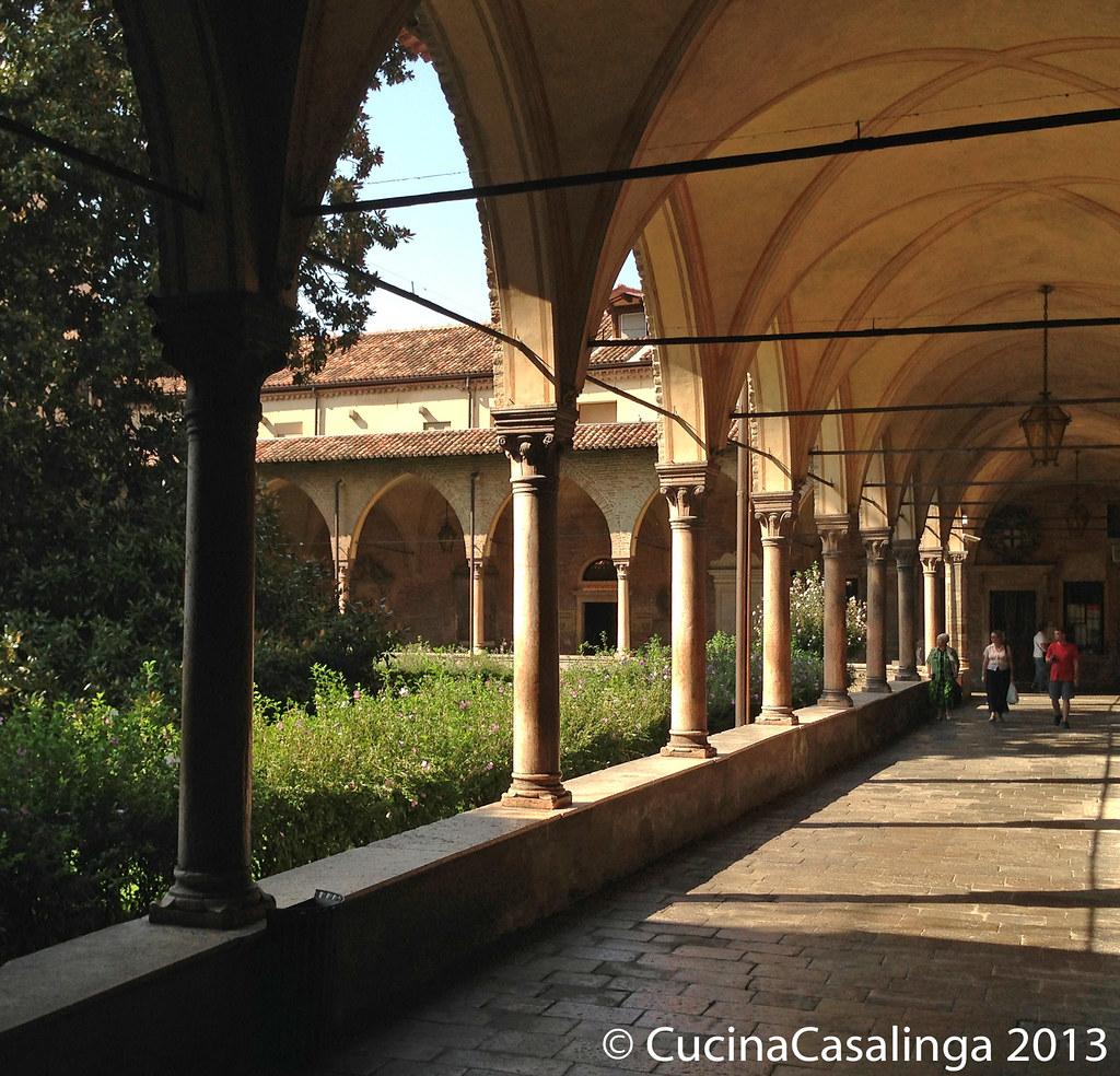 Padua Basilica di Sant'Antonio Kreuzgang