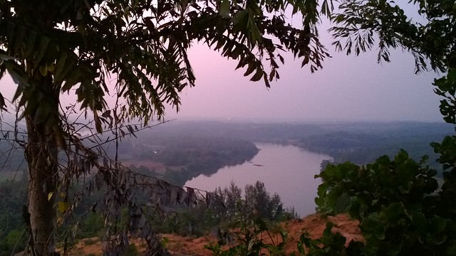 The Manipal River makes for purty scenery