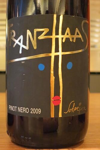 Franz Haas, Alto Adige Pinot Nero Schweizer 2009