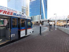 RTD - Denver Union Station terminal for the 16th Street Mall shuttle