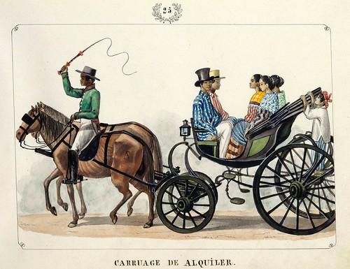 018-CARRUAGE sic DE ALQUILER-Vistas de las Yslas Filipinas y Trages…1847-J.H. Lozano- Biblioteca Digital Hispánica