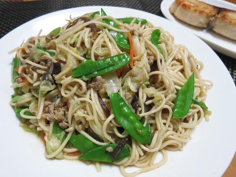 肉醬炒麵 @Amanda生活美食料理
