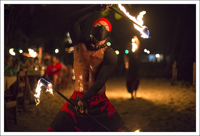 Fire Dancers At Nibbana 1