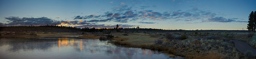 sunset panorama mountains nature clouds oregon centraloregon reflections landscape outdoors northwest bend sony scenic fullframe fx waterscape tetherow a7r zeiss35mmf28lens sonya7r
