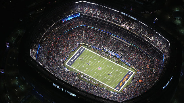 US-AN-AERIAL-VIEW-OF-SUPER-BOWL-XLVIII