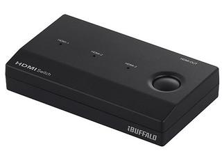 【バッファロー】テレビ用に使うHDMIセレクタを購入してみた【BSAK302】