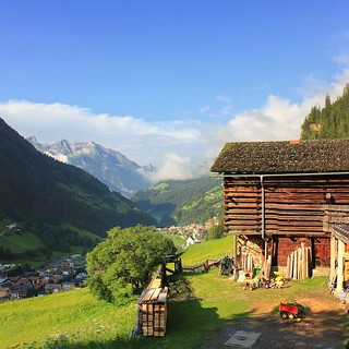 Everyday farming life in Austria