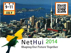 #NetHui 2014: 9-11 July in Auckland, New Zealand @NetHuiNZ