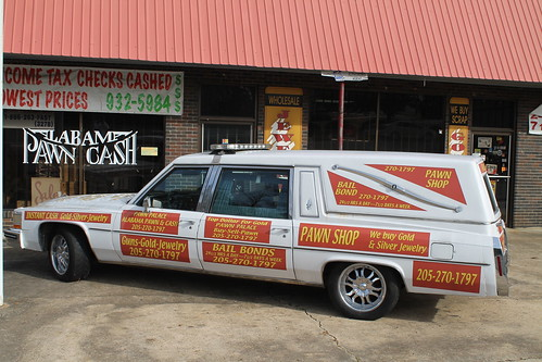 Pawn Shop Wagon, Fayette, Ala