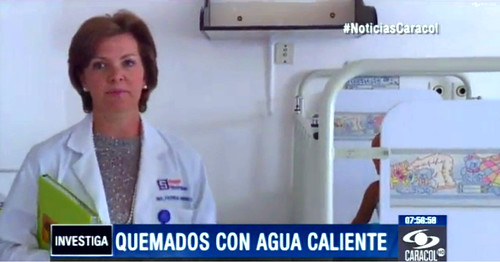 Noticias Caracol - Quemados con Agua Caliente - 20140201