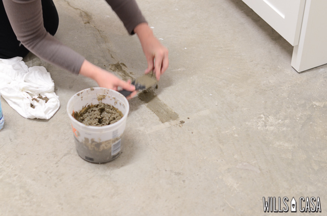 Painting Concrete Flooring