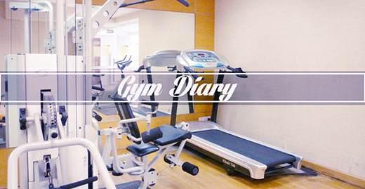 gym diary, reaxion fitness center