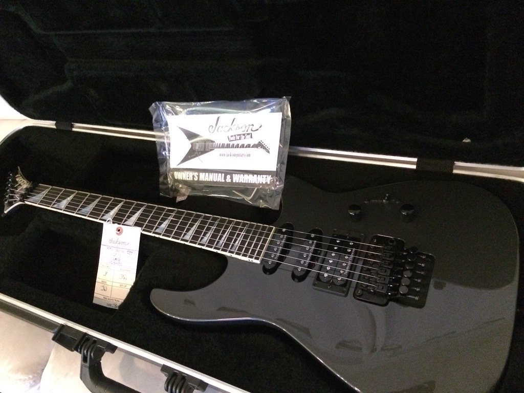 Jackson Sl1 Guitar Wiring Auto Electrical Diagram Schematics Trusted Diagrams Ft Mint Us Made Soloist Gunmetal Grey The Gear Page Rh Thegearpage Net Dinky Pickup