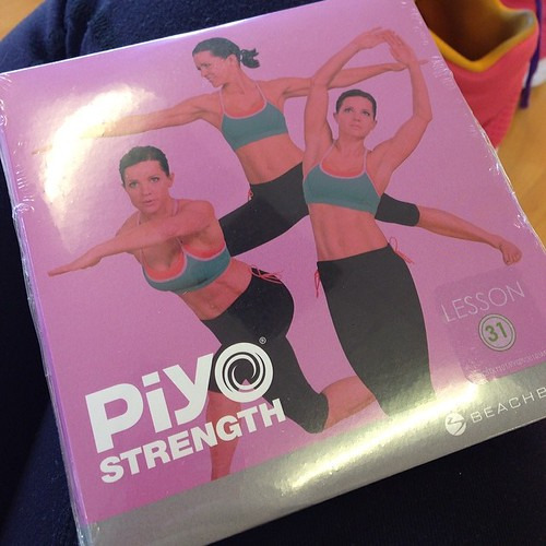 I'm excited and also a little terrified about teaching PiYo Strength tomorrow morning! Orlando, I still have a few spots open for the 9am class, and I also have room for the next two Saturdays. These first three classes are free!