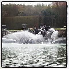 Today in the Garden of Versailles.