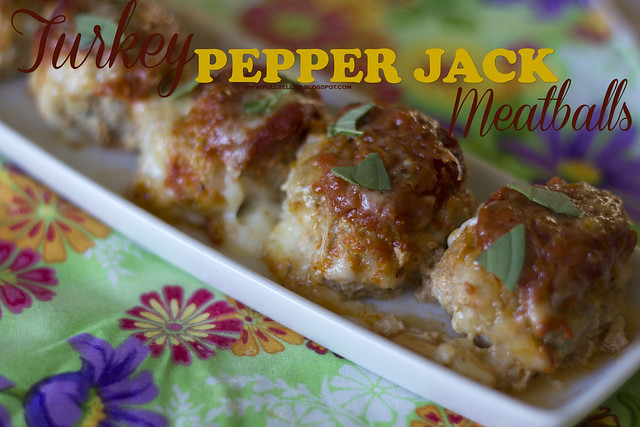 Turkey Pepper Jack Meatballs