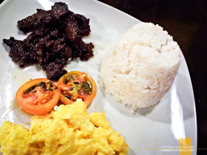 Kanto Freestyle Breakfast Libis Batangas Beef Tapa